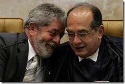 Lula e Gilmar Mendes